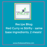 Red Curry vs Ginger and Soy Stir-fry